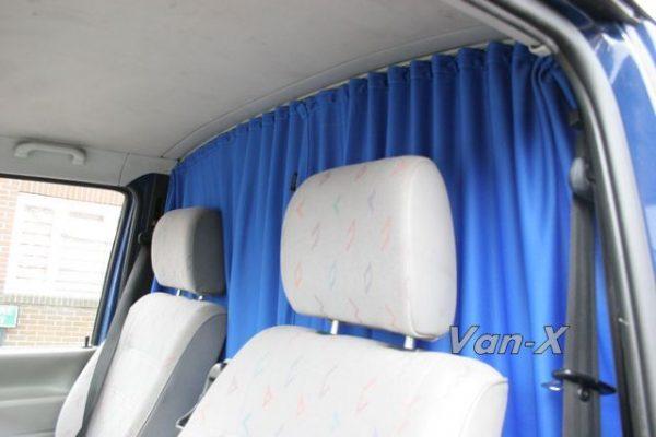 Ford Transit MK7 Cab Divider Curtain Kit-1087
