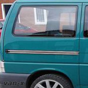 Rear Quarter Panel Window Smoked Glass for VW T4 Transporter SWB-0