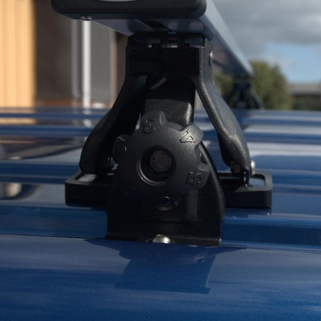 Roof / Cross Bars Kit 145cm For VW T5 / T6 Transporters-8674