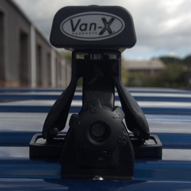 Roof / Cross Bars Kit 145cm For VW T5 / T6 Transporters-8676