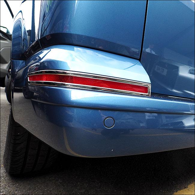 Tailgate Bumper Reflector Trims For VW T6 Transporter-7597
