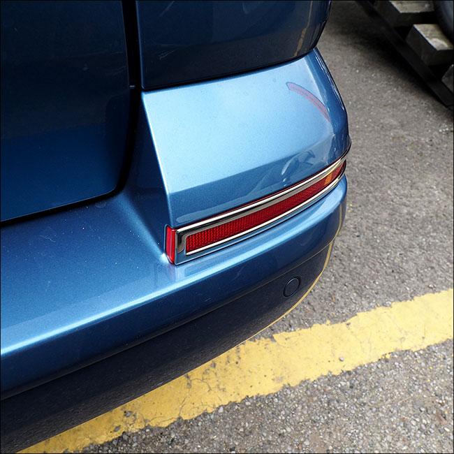 Tailgate Bumper Reflector Trims For VW T6 Transporter-7595