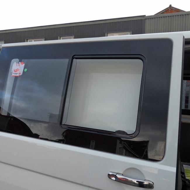 Side SLIDING Window Smoked Glass for VW T6 Transporter-20236