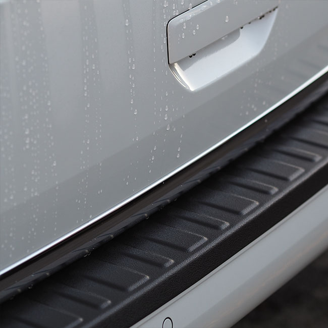 Rear Bumper Protector BLACK for VW T6 TAILGATE-8373