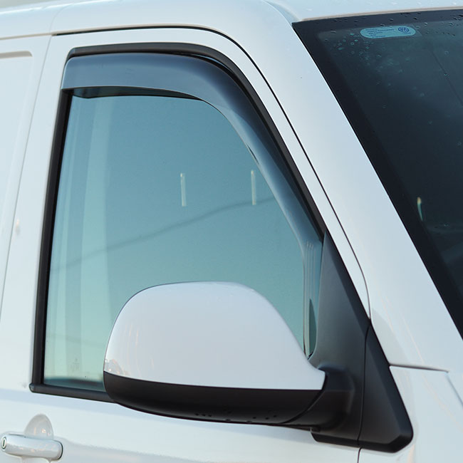 VW T6 Transporter Wind Deflectors-0