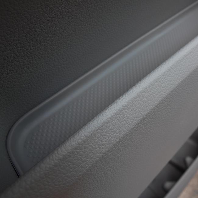 Rubber Door Pocket Inserts for VW T6 Transporter GREY-20637